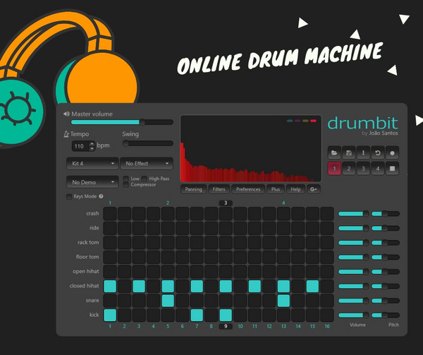 drumbit | Online drum machine
