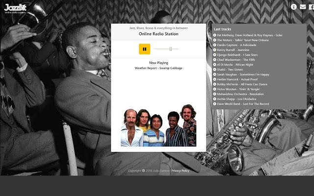 JazzBit Radio Screenshot